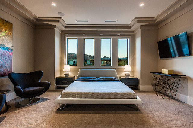 One of five bedroom suites. (Courtesy Shapiro & Sher Group)