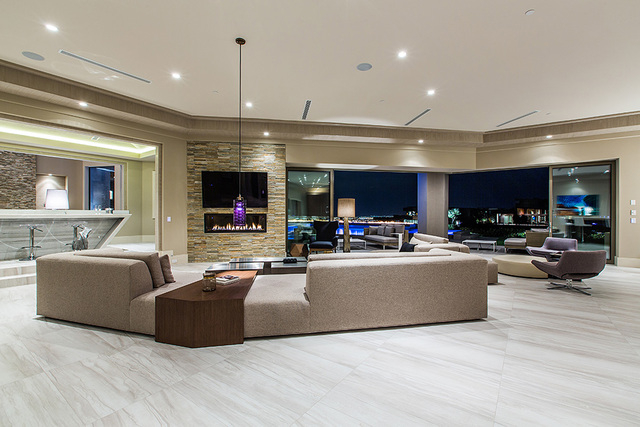 The living area opens to the outdoors. (Courtesy Shapiro & Sher Group)