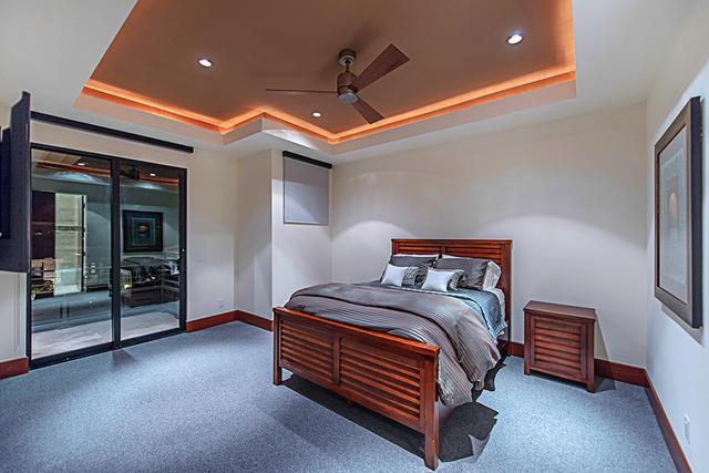 A secondary bedroom. (Courtesy Simply Vegas)