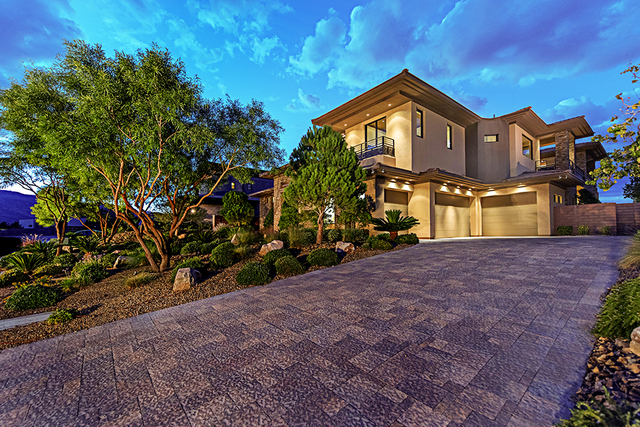 The home at 82 Meadowhawk is in The Ridges in Summerlin. (Courtesy Simply Vegas)