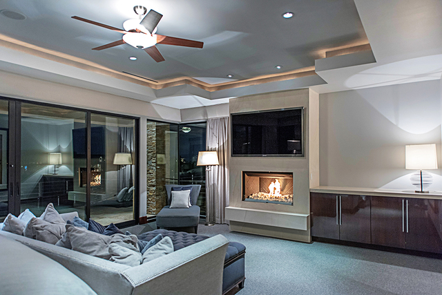 The master suite. (Courtesy Simply Vegas)