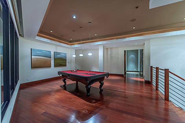 The game room. (Courtesy Simply Vegas)