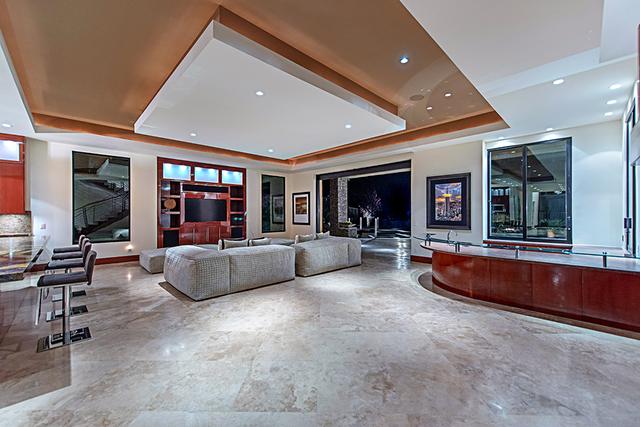 The living room. (Courtesy Simply Vegas)