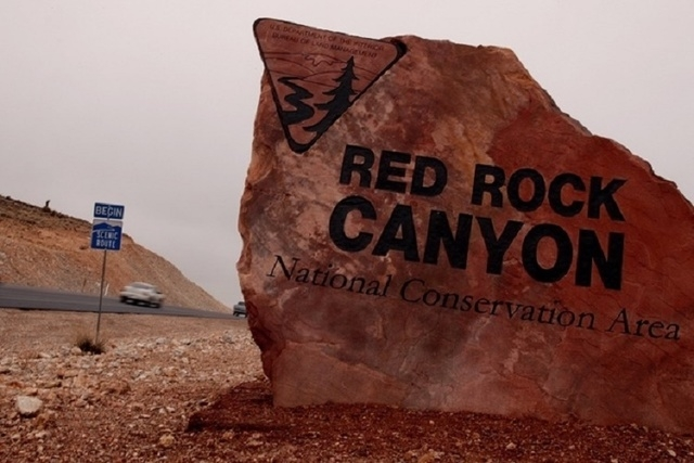 Red Rock Canyon National Recreation Area (David Becker/Las Vegas Review-Journal)