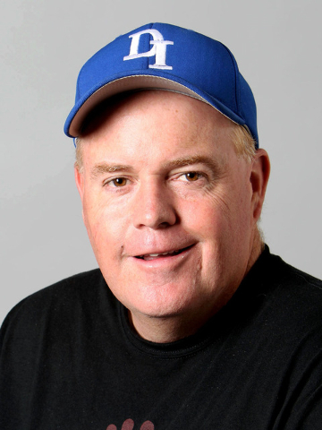 Sports columnist Ed Graney is photographed in the RJ studio, Monday, July 9, 2012. (Jerry Henkel/Las Vegas Review-Journal)