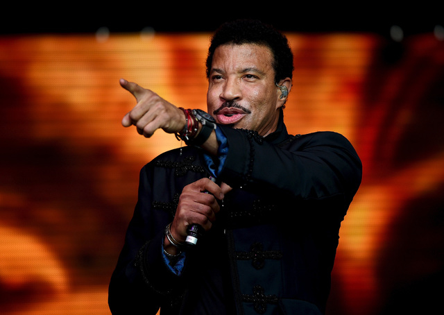 Lionel richie says the old vegas was his classroom las vegas lionel richie performs on the pyramid stage at worthy farm in somerset during the glastonbury festival m4hsunfo