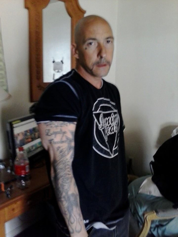 Michael Sanzo is pictured at his girlfriend's apartment in Reno after his release from prison in 2014. (Photo courtesy Michael Sanzo)