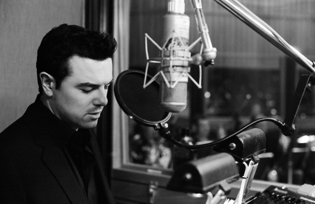 Seth MacFarlane will sing two nights of classic songs with a 55-piece orchestra in the Encore Theater. (Courtesy)