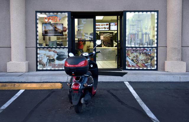 The front entrance at Tony Marc's Eats restaurant at 6700 W. Charleston Blvd Tuesday, April 19, 2016, in Las Vegas. David Becker/Las Vegas Review-Journal Follow @davidjaybecker