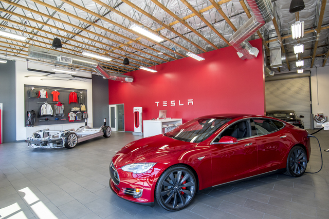 Tesla motors las vegas