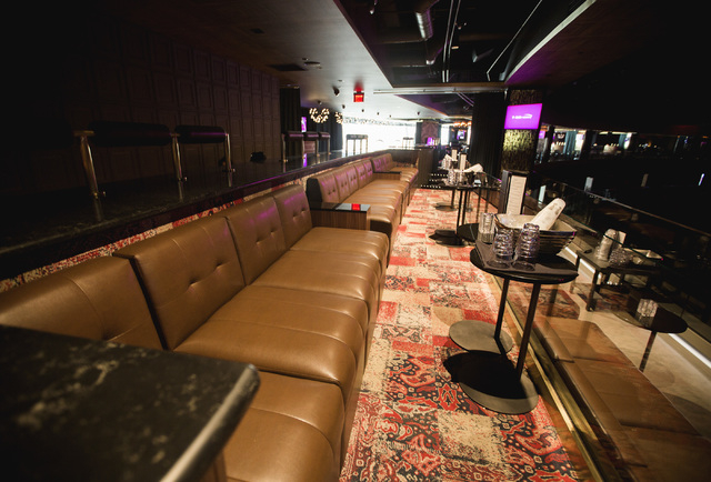 Hyde Lounge inside T-Mobile Arena is seen on Wednesday, April 6, 2016. Jeff Scheid/Las Vegas Review-Journal Follow @jlscheid