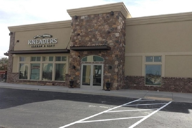 Front exterior of Kneaders Bakery & Cafe Henderson (Joe Peterson of Kneaders Bakery)