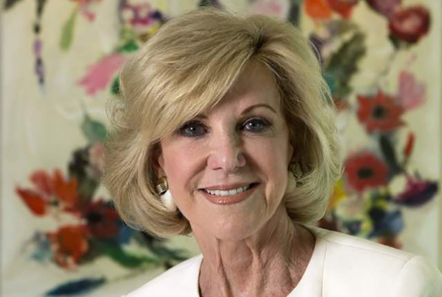 Elaine Wynn, philanthropist and cofounder of Wynn Resorts. (Jeff Scheid/Las Vegas Review-Journal) Follow Jeff Scheid on Twitter @jlscheid