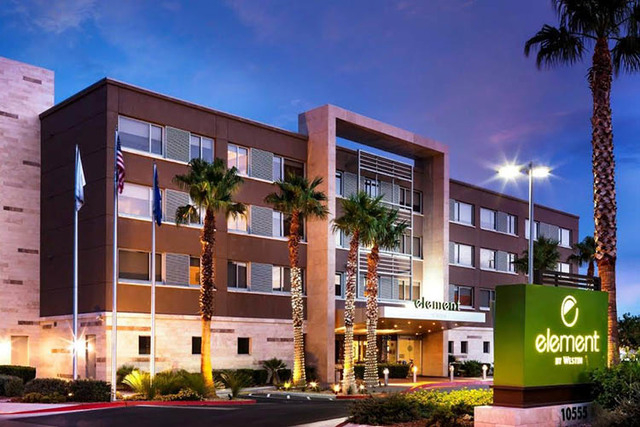 The 123-unit Element Hotel at 10555 Discovery Drive has been sold to Pacifica Cos., a San Diego investment firm, for $17.1 million. (Courtesy)