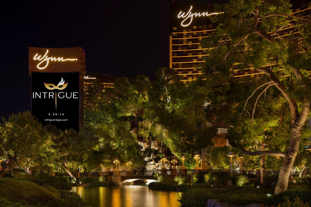 The new Intrigue nightclub at the Wynn Las Vegas is both elegant and, depending on where you want to go, exclusive. (Courtesy)