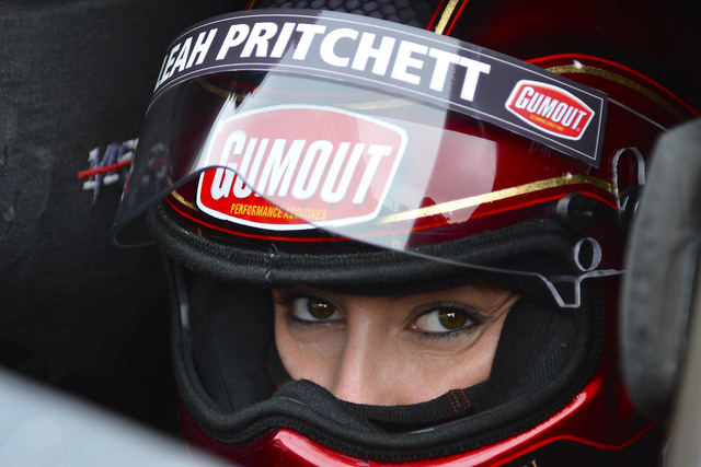 National Hot Rod Association Top Fuel Dragster driver Leah Pritchett will be blogging this weekend about her experiences in the NHRA Toyota Nationals at The Strip at Las Vegas Motor Speedway. (Cou ...