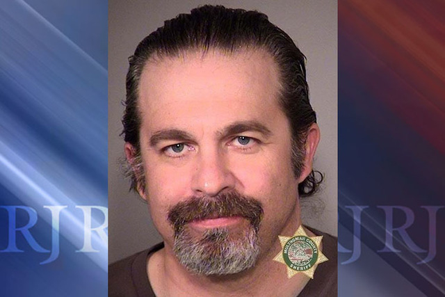Peter Santilli is seen in a jail booking photo, released Jan. 27, 2016. (Multnomah County Sheriff's Office/Handout via Reuters)