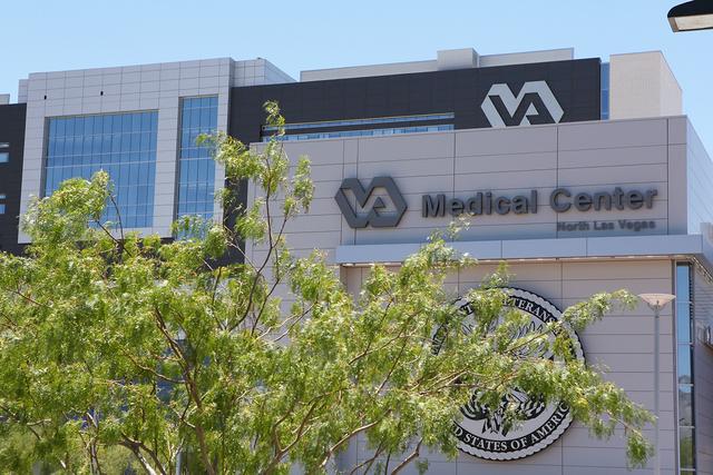 The Veterans Affairs Medical Center is shown Monday, June 22 2015, in North Las Vegas. (Ronda Churchill/Las Vegas Review-Journal)
