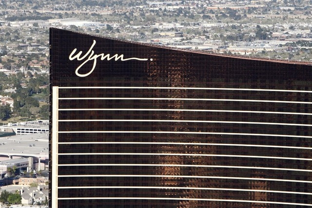 Wynn Resorts in Las Vegas (Las Vegas Review-Journal)