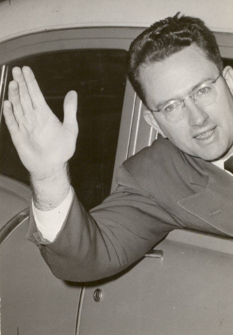 Cliff Young, a former Nevada congressman, state legislator and Supreme Court justice. (1956) (Las Vegas Review-Journal file)