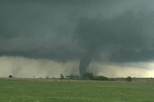1 Dead After Large Tornado Touches Down In Rural Oklahoma