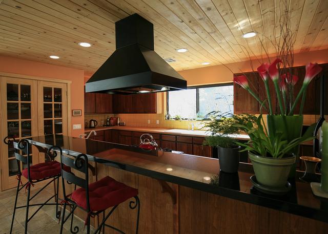 The Blue Diamond house has a kitchen built for comfort. (ELKE COTE/MILLIONS)