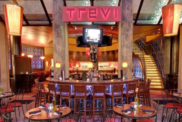 Trevi in the Forum Shops at Caesars Palace is among the local restaurants offering discounts for Military Appreciation Month. (Courtesy)