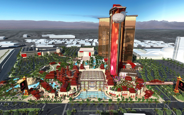 Genting Group, developers of Resorts World Las Vegas on the Las Vegas Strip, issued new renderings of the 3,000-room property on Wednesday, May 4, 2016. (Courtesy, Genting Group)