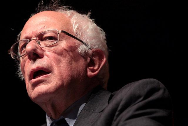 U.S. Democratic presidential candidate Bernie Sanders in San Juan, Puerto Rico, May 16, 2016. (Alvin Baez/Reuters)