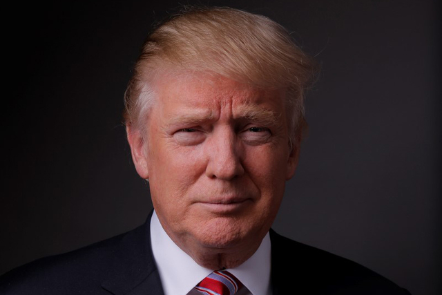 Republican U.S. presidential candidate Donald Trump poses for a photo after an interview with Reuters in his office in Trump Tower, in the Manhattan borough of New York City, May 17, 2016. (Lucas  ...