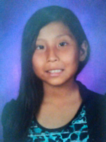 This undated photo provided by the New Mexico State Police shows Ashlynne Mike. The air and ground search for the abducted Navajo girl ended tragically Tuesday, May 3, 2016, when authorities found ...