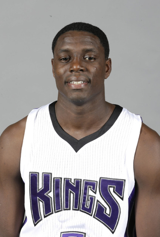 In this Sept. 28,. 2015, file photo, Sacramento Kings guard Darren Collison poses during the Kings' media day in Sacramento, Calif. Collison was booked into Placer County jail, in Auburn, Calif.,  ...