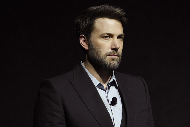 """Ben Affleck talks about """"Batman v Superman: Dawn of Justice"""" during CinemaCon 2016 at Caesars Palace on Tuesday, April 12, 2016, in Las Vegas. (Chris Pizzello/Invision/AP)"""