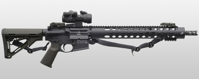 Alwood rifle (JW Enterprises)
