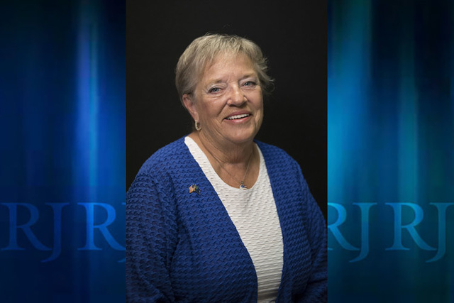 Candidate for state assembly district 19, Connie Foust, a Republican, will face off with incumbent Chris Edwards, also a Republican, in the primary. (Las Vegas Review-Journal)