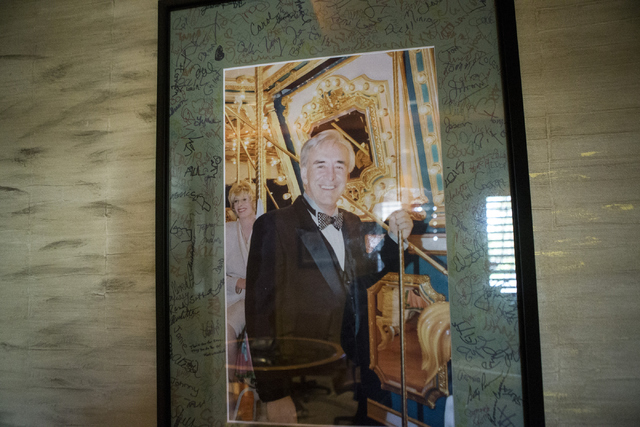 A photo of Bill Walters, famed sports bidder and developer, is seen during an interview at the Bali Hai Golf Club on Wednesday, May 25, 2016, in Las Vegas. Erik Verduzco/Las Vegas Review-Journal F ...