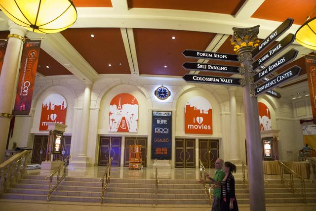 The Colosseum at Caesars Palace is seen on Thursday, April 14, 2016, in Las Vegas. Erik Verduzco/Las Vegas Review-Journal Follow @Erik_Verduzco