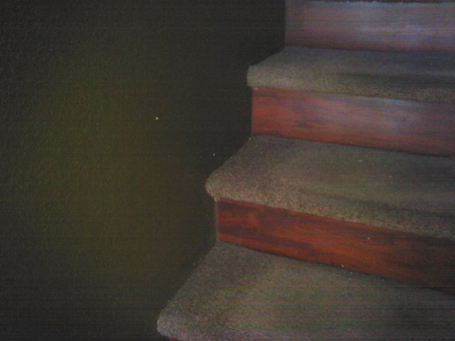 COURTESY Air is leaking around these stairs.
