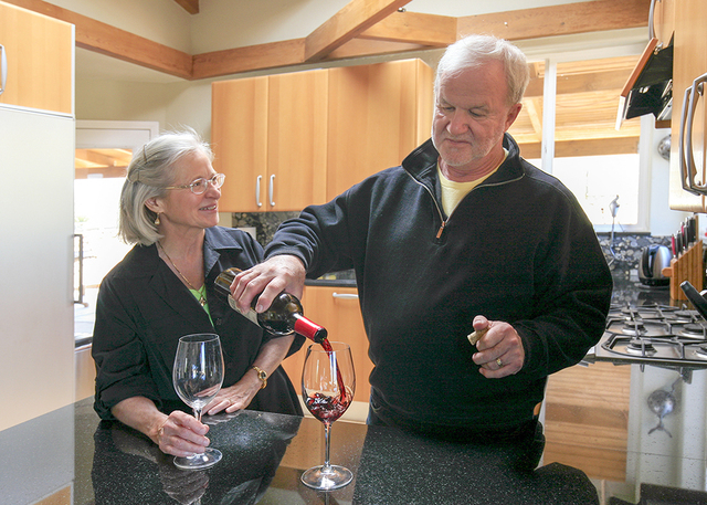 John and Cathy Gauthier are retired geologists who met working for the same company on the Yucca Mountain project. After 25 years they have listed their Bonnie Springs home for $1,650,000. (ELKE C ...