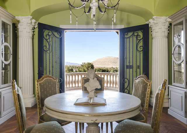 A reading area in Eagles Landing Lane home in Southern Highlands. (Luxe Estates & Lifestyles)
