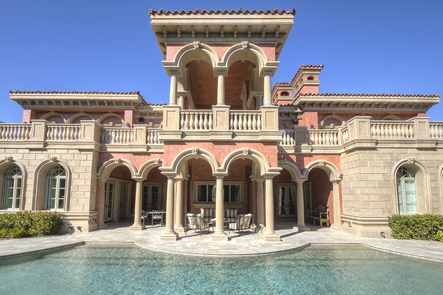 2 Southern Highlands Homes Offer Taste Of Italy In The Desert Photos Las Vegas Review Journal