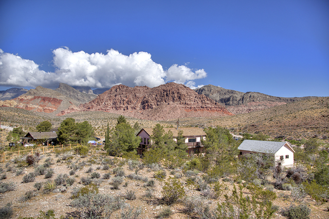This Calico Basin at 1951 Joylin St. sits on 2.5 acres and is listed on the market for $875,000. (COURTESY OF SYNERGY, SOTHEBY'S INTERNATIONAL REALTY)