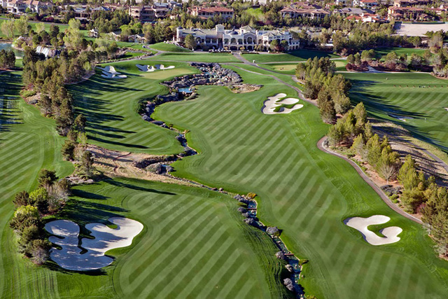 COURTESY The anchor of Southern Highlands Golf Club IS a private 18-hole championship golf course co-designed by legendary architects Robert Trent Jones Sr. and his son, Robert Trent Jones Jr. Thi ...