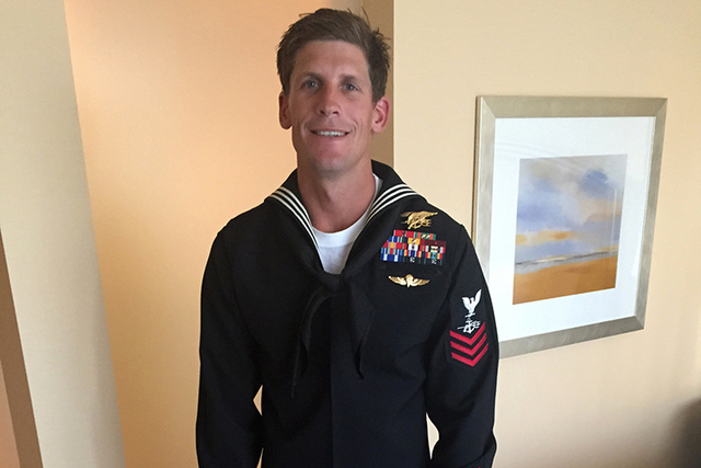This undated photo provided by Bascom Communications & Consulting, LLC shows Navy SEAL Charles Keating IV. Keating,  died Tuesday in Iraq in an Islamic State group attack near the city of Irbi ...