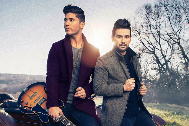 Dan + Shay are set to kick off the Neon Cowboy Country Series on Sunday at The Foundry inside the SLS Las Vegas. COURTESY