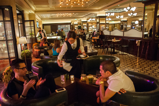 DB Brasserie at The Venetian will feature a seasonal tasting menu from Sunday through May 21. (Martin S. Fuentes/Las Vegas Review-Journal)
