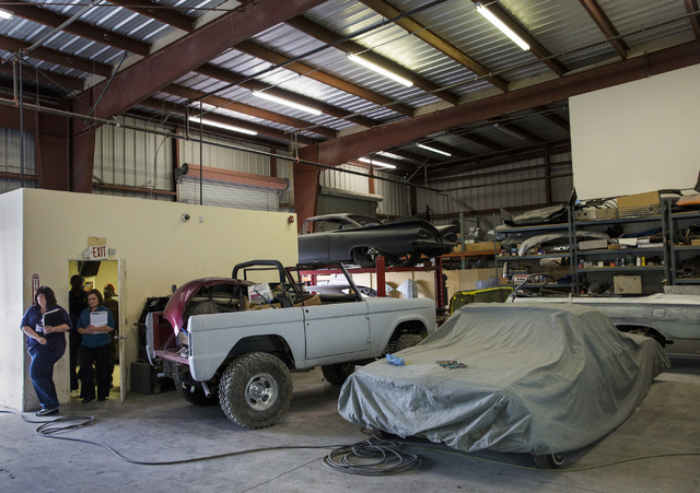 Department of motor vehicles inspects auto repair for Motor vehicle body repair