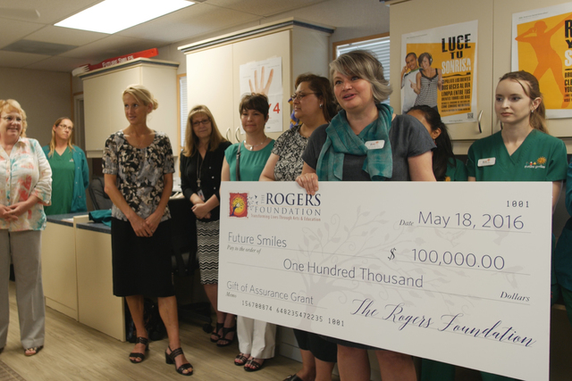 Future Smiles received $100,000 from the Rogers Foundation (Courtesy)