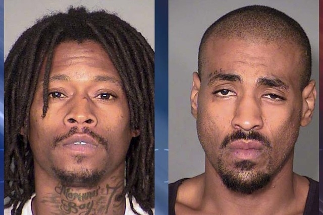 Brandon Gisendaner, left, and Kenneth McGee (Las Vegas Metropolitan Police Department)