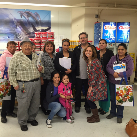 In April, Health Plan of Nevada's Health, Education and Wellness program leads a Spanish-speaking grocery store tour to demonstrate how to efficiently read food labels, navigate the grocery ...